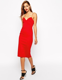 Asos - Midi Body-Conscious Dress