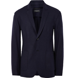 Rag & Bone  - Scott Slim Fit Unstructured Wool Felt Blazer