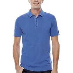 JF J. Ferrar - Garment-Dyed Piqué Polo Shirt