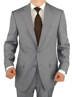 Salvatore Exte - Two Button Light Gray Suit
