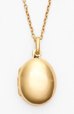 Argento Vivo - Oval Locket Necklace