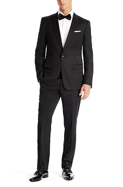 Boss - Stretch Virgin Wool Blend Suit