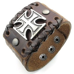 Konov Jewelry - Leather Bracelet