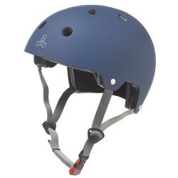 Triple Eight  - Certified Rubber Helmet