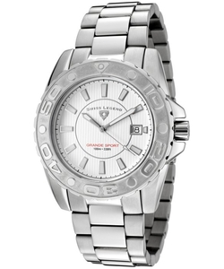Swiss Legend - Grande Sport Stainless Steel  Watch