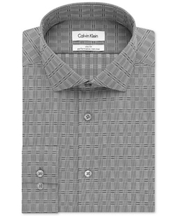 Calvin Klein - Performance Graphite Dress Shirt