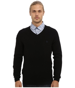 Original Penguin  - Hector Lambswool V-Neck Sweater