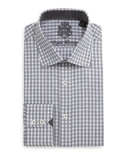 English Laundry - Gingham Check Dress Shirt