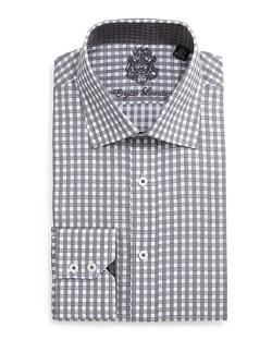 English Laundry - Gingham Check Dress Shirt