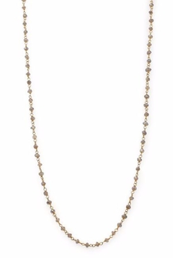 Chan Luu  - Labradorite Beaded Chain Necklace