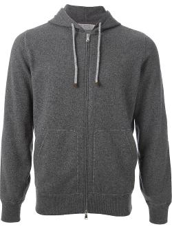 Brunello Cucinelli  - Hooded Cardigan
