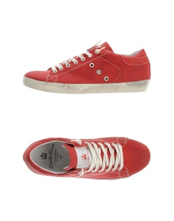 Leather Crown - Low-Top Sneakers