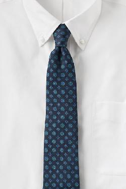Ike Behar  - Diamond Flower Print Tie