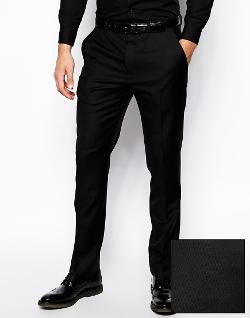 ASOS  - Skinny Fit Tuxedo Pants