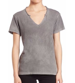 Cotton Citizen - Supima Cotton Marbella V-Neck Top