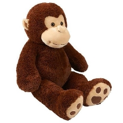 Toys R Us - Plush Jumbo Monkey Toy