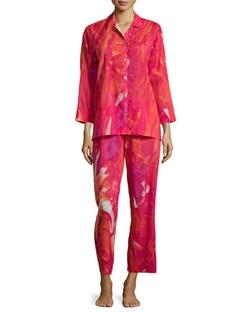 Natori - Malibu Lagoon Two-Piece Pajama Set