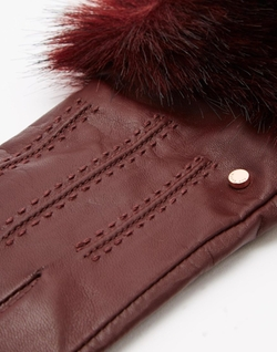 Ted Baker - Fur Lined Leather Glove