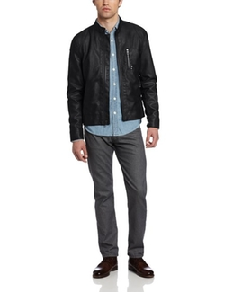 Marc Ecko - Cut And Sew Ledyard Moto Hipster Jacket