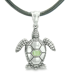 Best Amulets - Sea Turtle Leather Necklace
