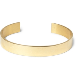 Le Gramme - Polished Yellow Gold Cuff Bracelet