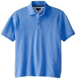Tommy Hilfiger - Boys 8-20 Short Sleeve Ivy Polo Shirt-Summer