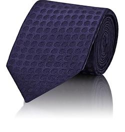 Cifonelli - Dot Jacquard Necktie