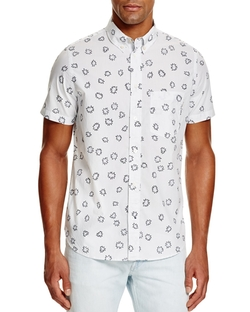 Paul Smith Jeans - Pow Print Button Down Shirt