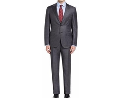 Canali - Sharkskin Wool Two-Piece Suit