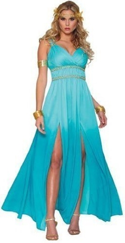 Costume Agent - Blue Warrior Princess Costume
