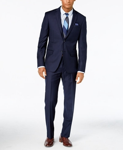 DKNY - Solid Extra-Slim-Fit Suit