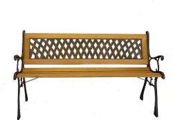 PSW - Benches & Chairs - Basket Weave Park Bench