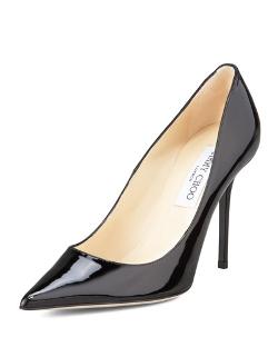 Jimmy Choo - Abel Point-Toe Patent Pump Shoes