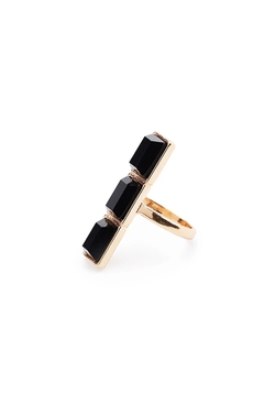 Forever 21 - Faceted Faux Stone Ring