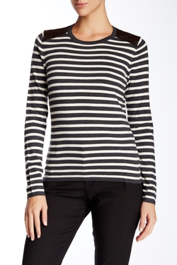J.McLaughlin  - Leeward Long Sleeve Crew Neck Sweater
