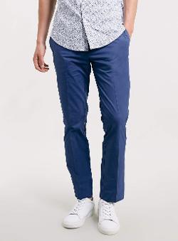 Topman - Blue Skinny Pants