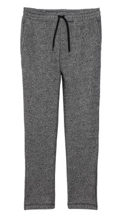 T by Alexander Wang  - Speckled French Terry Sweatpants