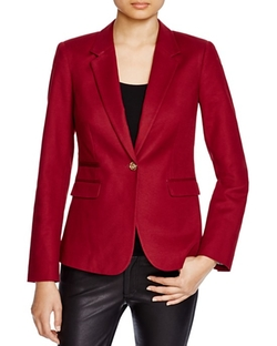 Vince Camuto  - Stretch-Cotton Blazer