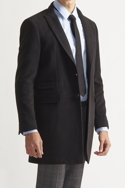 Jackthreads - Savile Row Slim Peak Lapel Coat
