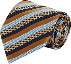 Brioni  - Diagonal-Striped Necktie