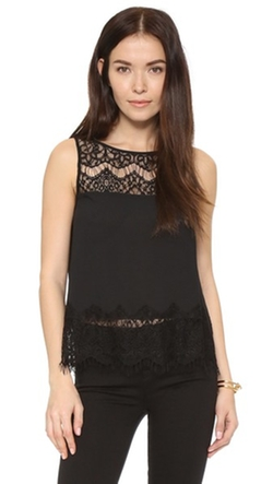 BB Dakota  - Eunice Lace Top