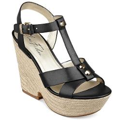 Marc Fisher Malek  - T-Strap Platform Wedge Sandals
