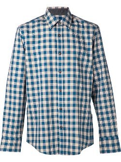 Hugo Boss  - Plaid Shirt