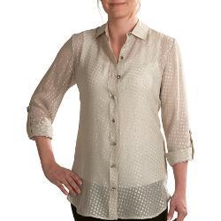 Paperwhite  - Silk Blend Shirt