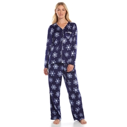 Croft & Barrow - Minky Fleece Gift Set Pajama