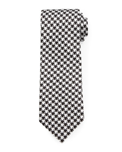 Tom Ford  - Houndstooth Jacquard Tie