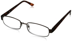 Greg Norman - Rectangular Bronze Reading Glasses