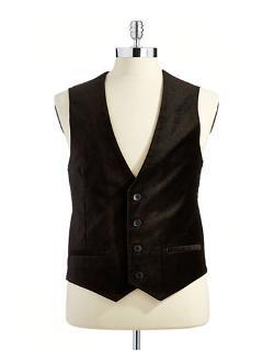 CALVIN KLEIN - Velvet Vest