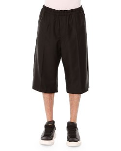 Alexander McQueen   - Drawstring Long-Shorts