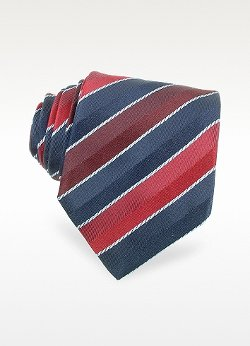 Moreschi  - Regimental Woven Silk Tie